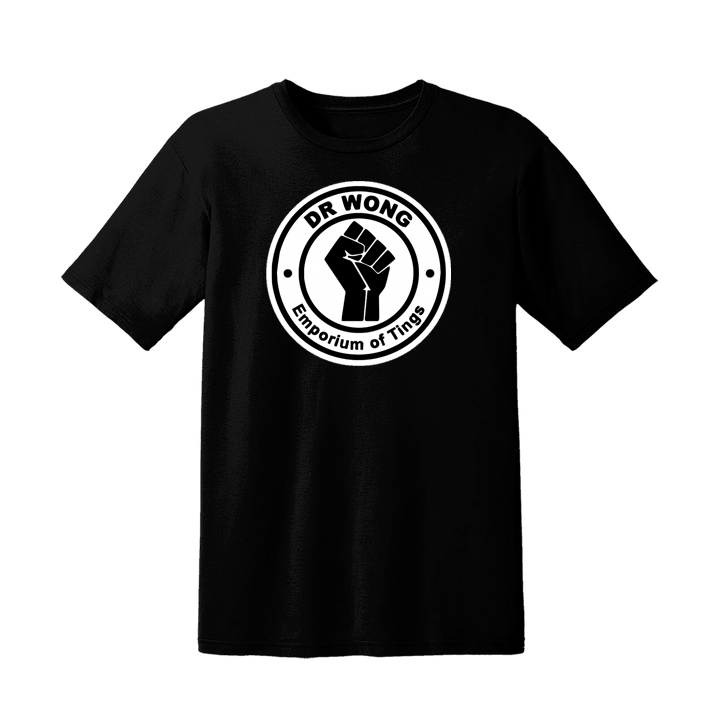 NEW! 50 pce limited edition Dr Wong Logo T-SHIRT. Each garment is numbered from 1-50